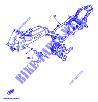 ALTERNATIVA BASTIDOR   FOR ENGLAND para Yamaha XV535 1997